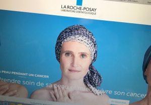 """Visage pour la Campagne La Roche Posay """"Ma peau pendant un cancer"""" / """"Better skin throughout cancer"""""""
