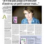 """Marraine du Salon du Livre d'Hagondange - """"Sarah 30 ans mon cancer même pas peur"""" (Ed. Michel de Maule)"""