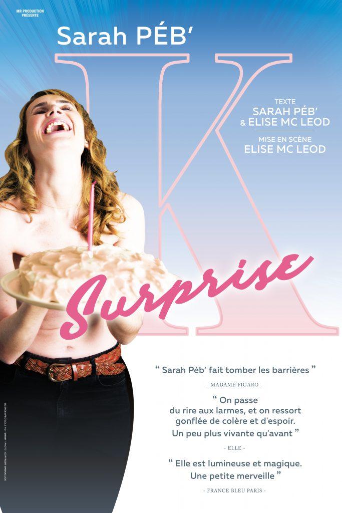 """""""K Surprise"""" : nouvelle affiche du spectacle & programmation théâtre & entreprise/associations pour Octobre Rose & la SEEPH"""